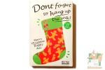 Набор поздравительных карточек: Рождественские носки