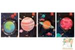 Наборы листков для записок: Планеты