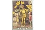 Почтовая открытка Kingcup Fairy