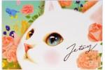 Почтовая открытка Jetoy Choo Choo Cats - 06