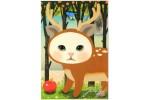 Почтовая открытка Jetoy Choo Choo Cats - 08