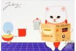 Почтовая открытка Jetoy Choo Choo Cats - 14