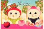 Почтовая открытка Jetoy Choo Choo Cats - 19