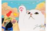 Почтовая открытка Jetoy Choo Choo Cats - 20