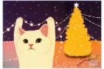 Почтовая открытка Jetoy Choo Choo Cats - 24