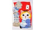 Почтовая открытка Jetoy Choo Choo Cats - 27