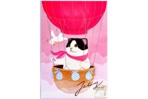 Почтовая открытка Jetoy Choo Choo Cats - 28