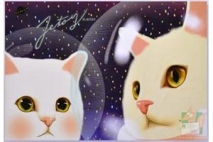 Почтовая открытка Jetoy Choo Choo Cats - 29