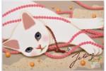 Почтовая открытка Jetoy Choo Choo Cats - 30