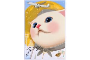 Почтовая открытка Jetoy Choo Choo Cats - 32