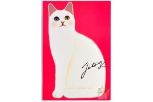 Почтовая открытка Jetoy Choo Choo Cats - 39
