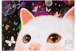 Почтовая открытка Jetoy Choo Choo Cats - 40