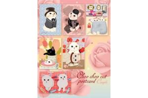Набор почтовых открыток Jetoy King - Couple