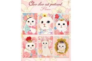 Набор почтовых открыток Jetoy King - Flower
