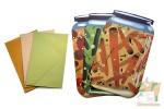 Набор конвертов и бумаги: Банки солений