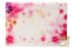 Декоративный конверт розовый