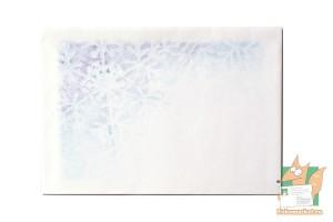 Набор из конверта и бумаги для письма: Зимний