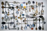 Открытка: Коллекция старых ложек