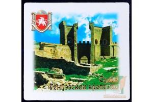 Магниты с видами Крыма: Генуэзская крепость