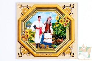 Магнит - украинский колорит, пара