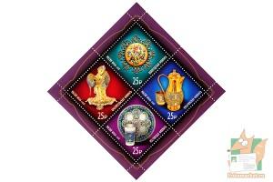 Почтовые марки: Художественная эмаль.