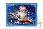Почтовые марки: С Новым Годом! 2021