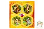Почтовые марки: История отечественного пчеловодства