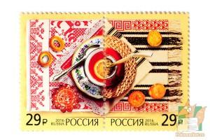 Почтовые марки: Делимся традициями