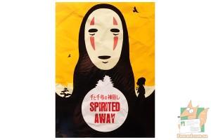 4 открытки: Обложки мультфильмов Ghibli