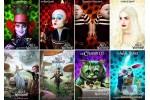Наборы из 8 открыток по фильму Алиса в Стране чудес