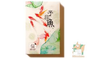 Набор из 30 открыток: Акварельные рыбы