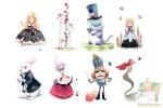 Набор из 8 открыток от Dream Designer: Алиса