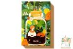 Набор из 30 фигурных открыток: Медведь Дамо.
