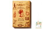 Набор из 30 фигурных открыток: Винтажные бирки