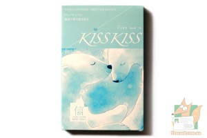 Набор из 30 открыток + наклейки: Give me a Kiss Kiss