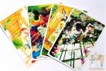 4 открытки: мой секретный сад