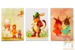 Карточки для записок - сказочные звери