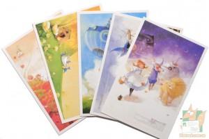 5 открыток: Волшебник из страны Оз