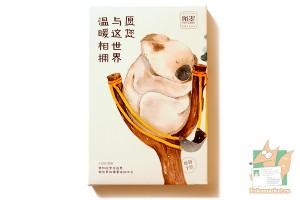 Набор из 30 открыток: Коала в рогатке