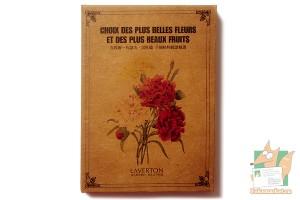 Набор из 30 крафт открыток: Цветы