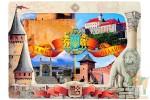 Набор открыток с фоторамкой: Замки и крепости Украины