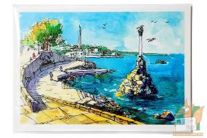 Авторский набор открыток: Севастополь