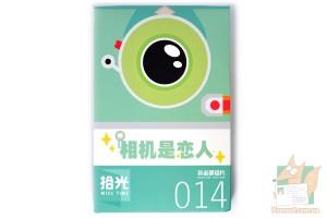 Набор из 30 фигурных открыток: MISS TIME 014 - Фотоаппараты