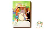 Набор из 20 открыток + блокнот + наклейки: Фан-арт Миядзаки