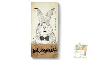Набор из 28 почтовых открыток + 28 карточек: Mr. Animal