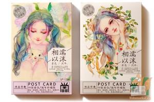 Набор из 36 открыток: Лесные нимфы