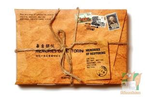 Набор из 30 фигурных открыток: Старые письма