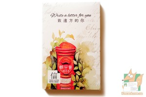 Набор из 30 открыток + наклейки: Почтовые ящики