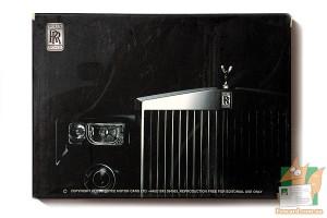 Набор из 30 открыток: Автомобили Роллс Ройс