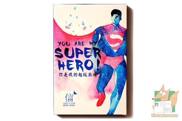 Открытка моему супергерою 35